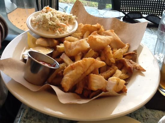 Yarmouth, ME: fish and chips