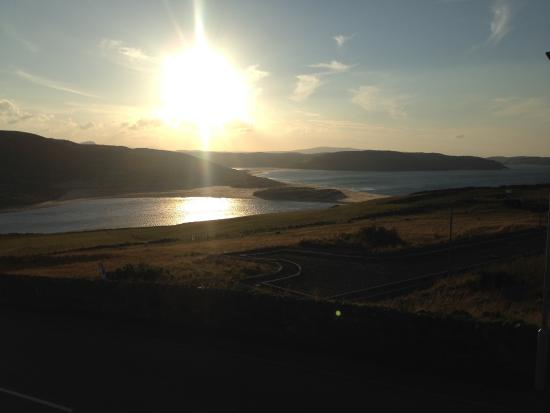 Bettyhill, UK: view at evening