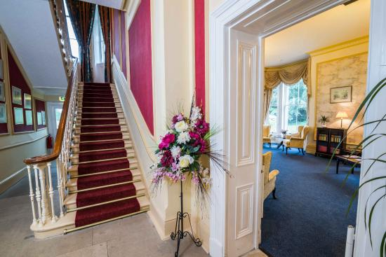 Park House Hotel Main Stairs And Lounge