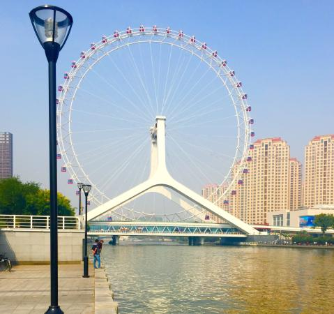 Ferris wheel, Eye of Tianjin