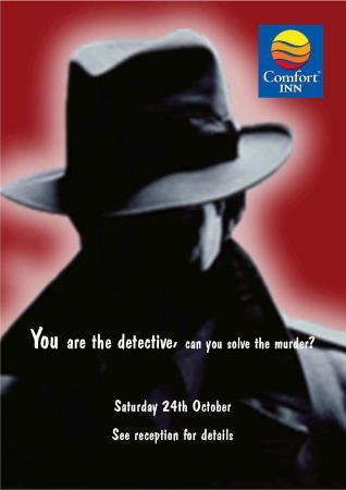 Comfort Inn Ramsgate: Murder Mystery Dinner