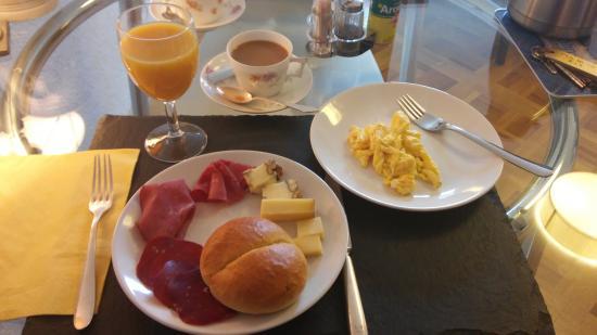 Haus Weibel: colazione