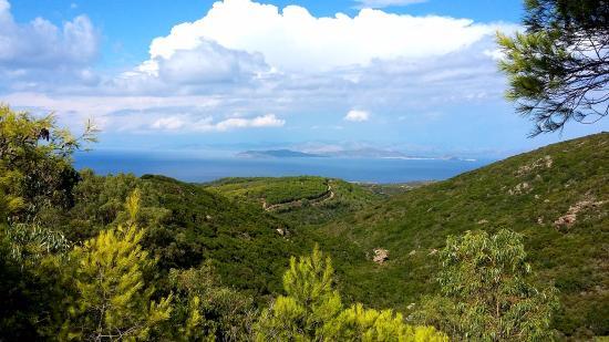 Kythera Hiking: Виз на горы и море Китиры.
