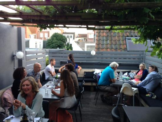 Dakterras foto van restaurant brick haarlem tripadvisor - Dakterras restaurant ...