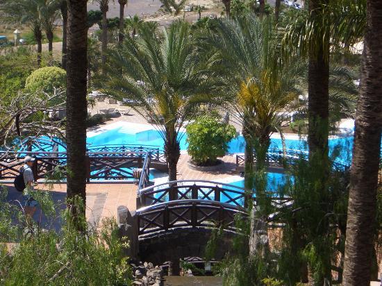 Piscinas desde arriba picture of melia jardines del for Melia jardines del teide tenerife