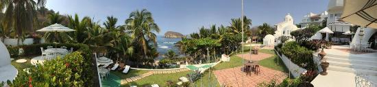 Villas Fa-Sol: Panoramica vista desde las Villas hacia el oceano
