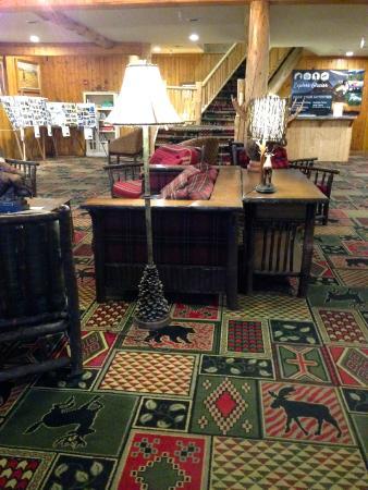 St Mary Lodge & Resort: reception