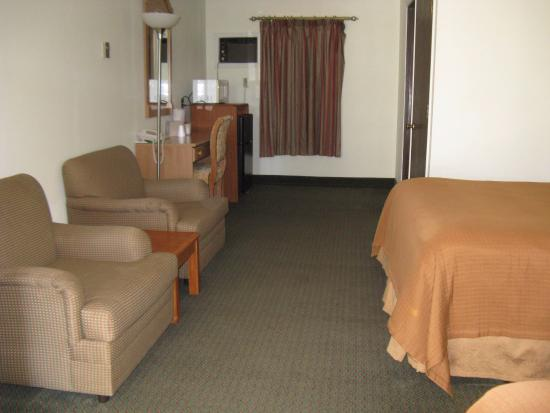 Room at the Shady Oaks Motel