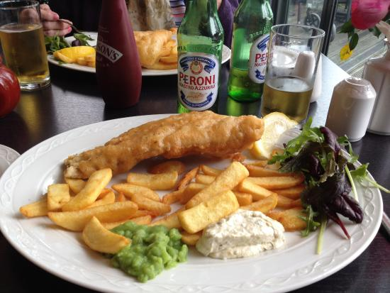 Wednesday lunch picture of brasserie fish and grill for Fish and grill