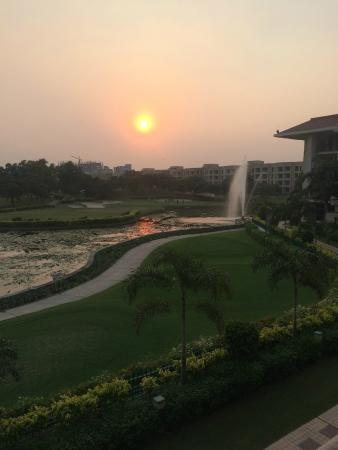 Jaypee Greens Golf and Spa Resort: View from the room.
