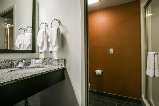 Sleep Inn Arlington Near Six Flags: Bathroom