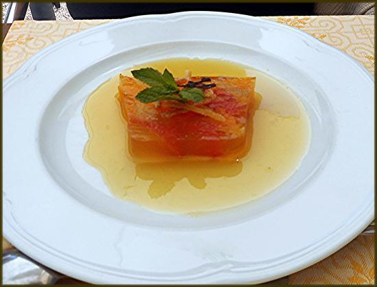 Saint-Cyr-en-Talmondais, Francia: Dessert