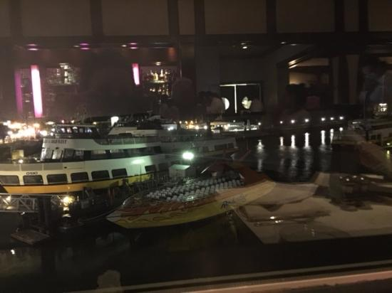 View from our table picture of fog harbor fish house for Fog harbor fish house san francisco