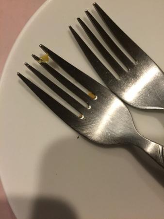 Daruma: tenedor sucio =(