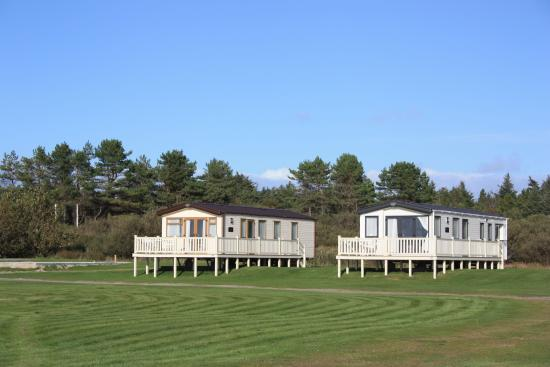 The statics at Point Sands Holiday park