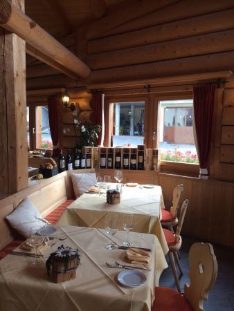 Hotel Alpenhof: Gaststube