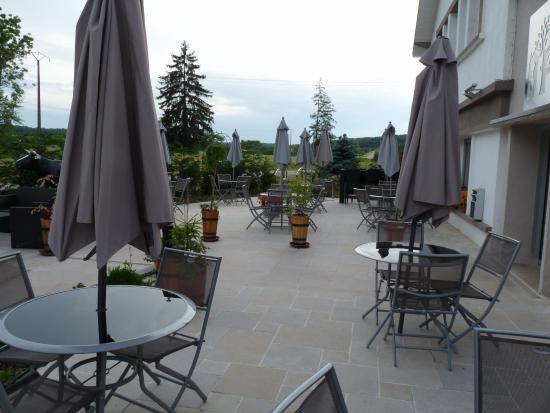 Baudricourt, ฝรั่งเศส: Terrasse