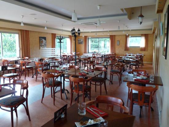 Baudricourt, ฝรั่งเศส: Salle du restaurant