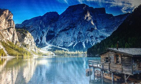 lago di braies prags - photo #41