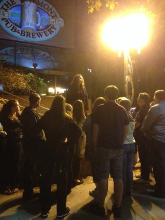 Queen City Ghostwalk: A haunted craft brew pub on the Darkness Falls Tour