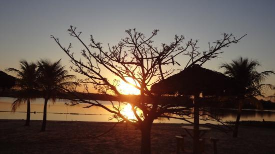 Sertãozinho, SP: Por do sol na prainha!