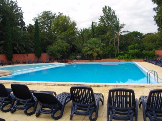 Camping Le Haras : La piscine