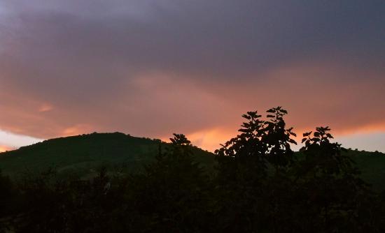 Valfabbrica, Italia: Sunset view