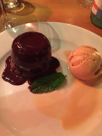 Piccolinos: Chocolate fondant was divine!