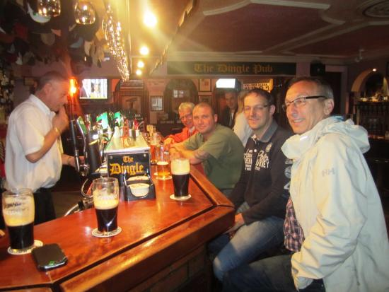 Dingle Pub: Theke