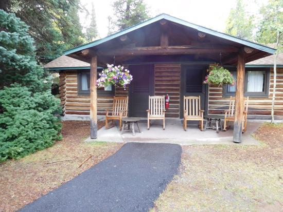Jenny Lake Lodge: Exterior Of Duplex Cabin. Part 84