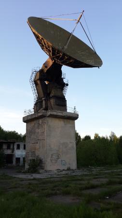 Зименковская радиоастрономическая обсерватория: Радиотелескоп РТ-15