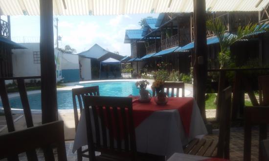 Hotel Utüane : Vista desde el restaurante