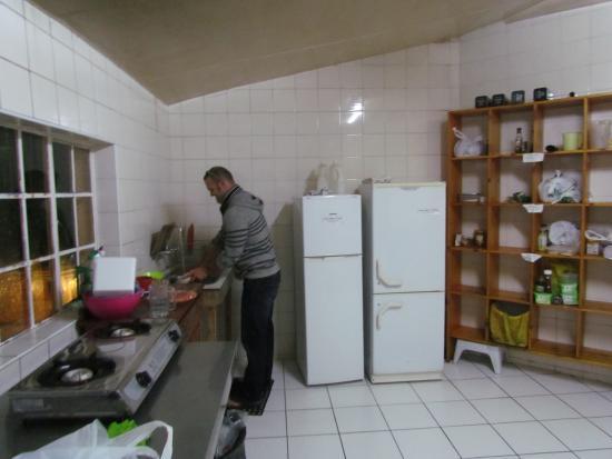 Backpackers Ritz: Kitchen