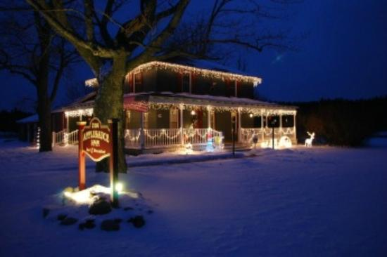 Applesauce Inn Bed & Breakfast : All dressed up for the Holidays