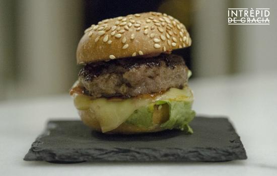 Mini burger de ternera