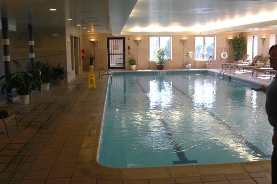 Roosevelt Inn & Suites : Indoor pool