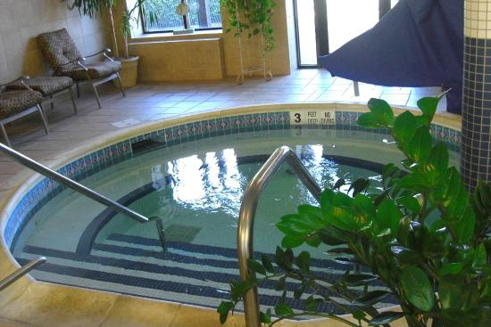 Roosevelt Inn & Suites : Jaccuzi