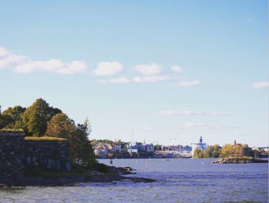 Hostel Suomenlinna: На острове очень красиво!