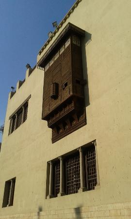 wooden carved lattice windows picture of the coptic museum cairo