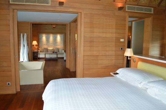 Interior Of Overwater Bungalow Picture Of Four Seasons