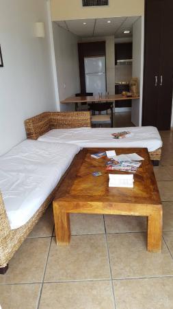 Apartamentos Aguamarina Golf: Living Area/kichen