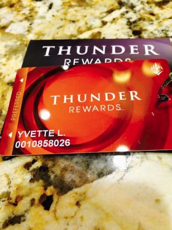 Hampton Inn and Suites Roseville: Thunder Valley, 15 minutes away. My first time.