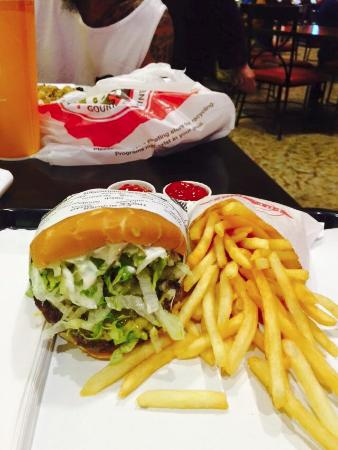 fatburger was yummy and comped picture of thunder valley casino rh tripadvisor com