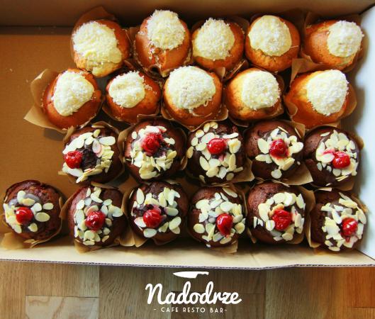 Nadodrze Cafe Resto Bar: muffin