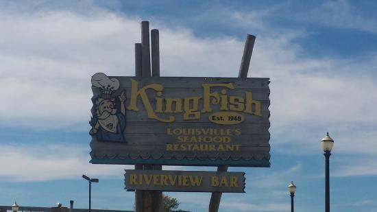 KingFish Restaurants: sign