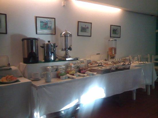 Casabonita Bed and Breakfast : desayuno