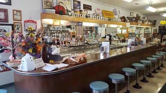 old fashioned soda fountain at wittich 39 s picture of