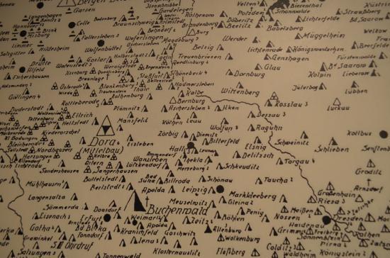 kz karte KZ Karte der Nürnberger Prozesse   Picture of The German
