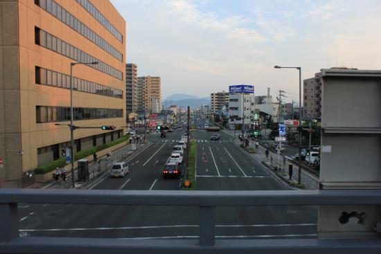 Terminal Hotel Matsuyama: A Main Street Starbucks Matsuyama, Ehime Prefecture Japan