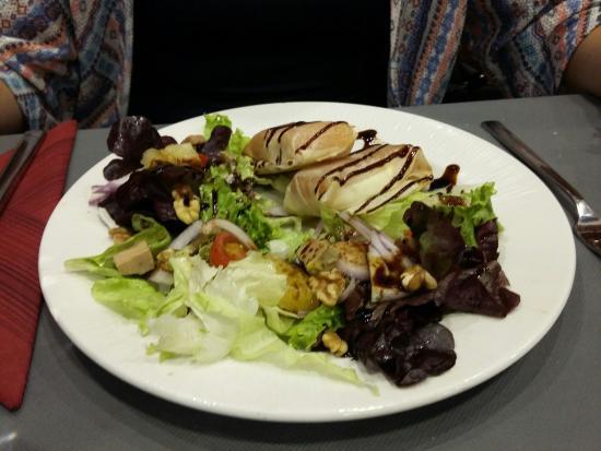 Restaurante Doyuno : Ensaladas de queso de cabra